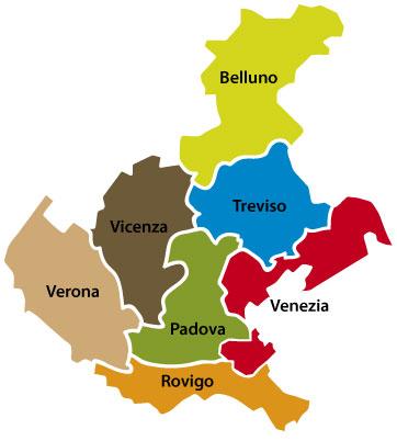 scopri le province venete gusta veneto
